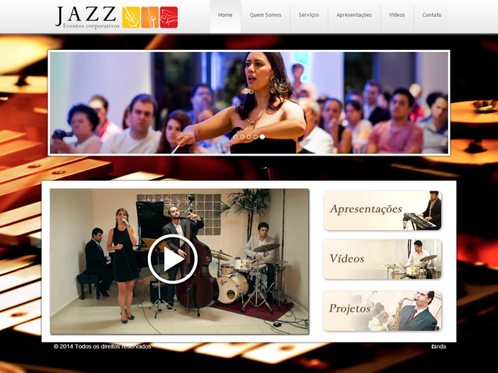 jazz eventos tanda site